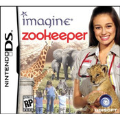 Imagine Zookeeper Nintendo DS game box art image pic