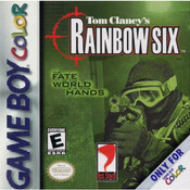 Tom Clancy's Rainbow Six - Game Boy Color Game