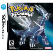 Pokemon Diamond Version Empty Case For Nintendo DS