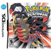 Pokemon Platinum Version Empty Case For Nintendo DS