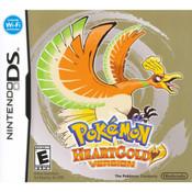 Pokemon HeartGold Version Empty Case For Nintendo DS