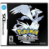 Pokemon Black Empty Case For Nintendo DS