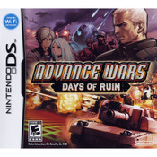 Advance Wars Days of Ruin Empty Case For Nintendo DS