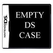 Empty Nintendo DS Case