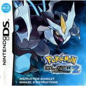 Pokemon Black 2 Manual For Nintendo DS