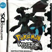 Pokemon White Version Manual For Nintendo DS
