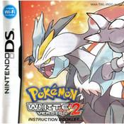 Pokemon White Version 2 Manual For Nintendo DS