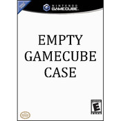 Empty GameCube Case