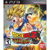 Dragon Ball Z Ultimate Tenkaichi - PS3 Game