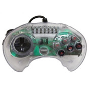 High Frequency 6 Button Clear Controller - Genesis