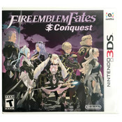 Fire Emblem Fates and Conquest 3DS Nintendo game for sale online.