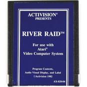 River Raid (Blue Label) - Atari 2600 Game