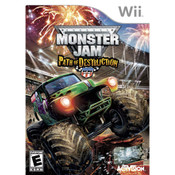 Monster Jam Path of Destruction - Wii Game