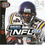 NFL 2K2 Football - Dreamcast Game