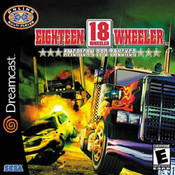 18 Wheeler American Pro Trucker Dreamcast Game