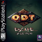 O.D.T Escape or Die Trying - PS1 Game