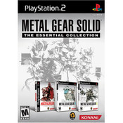 Metal Gear Solid The Essential Collection - PS2 Game