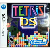 Tetris DS Nintendo DS game for sale.