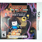 Adventure Time Explore the Dungeon Because I Don't Know 3ds game for sale.