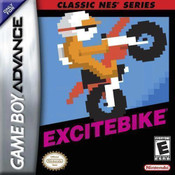 Excitebike NES Classic - Game Boy Advance Game