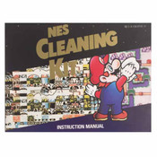 NES Cleaning Kit Mario - NES Manual