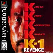 Complete K-1 Revenge - PS1 Game