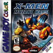 X-Men Mutant Wars - Game Boy Color Game