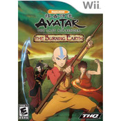 Avatar The Last Airbender The Burning Earth - Wii Game