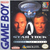 Star Trek Generations Beyond the Nexus Game Boy Game