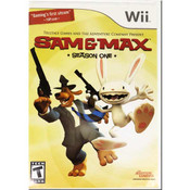 Sam & Max Season One Nintendo Wii Game