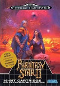 Phantasy Star II Genesis Game Box