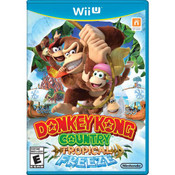 Donkey Kong Country Tropical Freeze - Wii U Game