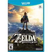 Legend of Zelda: Breath of the Wild - Wii U Game