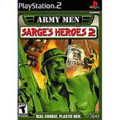 Army Men Sarge's Heroes 2 - PS2 Game