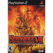 Romance of the Three Kingdoms VII - PS2 Game