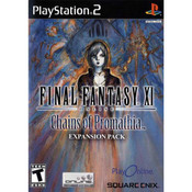 Final Fantasy XI Online Chains of Promathia - PS2 Game