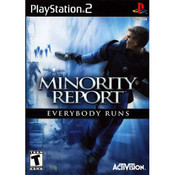 Minority Report Everybody Runs - PS2 Game