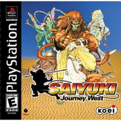 Saiyuki Journey West - PS1 Game