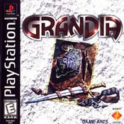 Grandia - PS1 Game