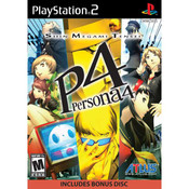 P4 Persona 4 - PS2 Game