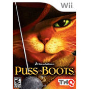 Puss In Boots - Wii Game