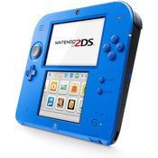 Nintendo 2DS Electric Blue Handheld System