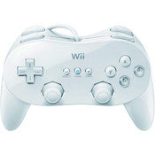 Original White Classic Pro Controller - Wii