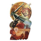 Warlords Vintage Artfaire - Atari 2600 Poster