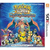Pokemon Super Mystery Dungeon - 3DS Game