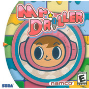 Mr. Driller - Dreamcast Game