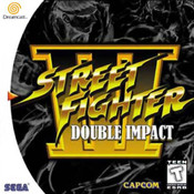 Street Fighter III Double Impact - Dreamcast Game