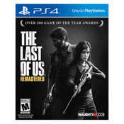 Last of Us Remastered Playstation 4 PS4 used video game for sale online.