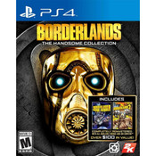 Borderlands Handsome Collection Playstation 4 PS4 used video game for sale online.
