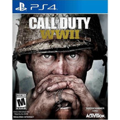 Call of Duty WWII COD Playstation 4 PS4 used 1st person shooter video game for sale online.